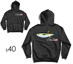 Yellowfin Tuna Heavy Dry Blend Hoodie